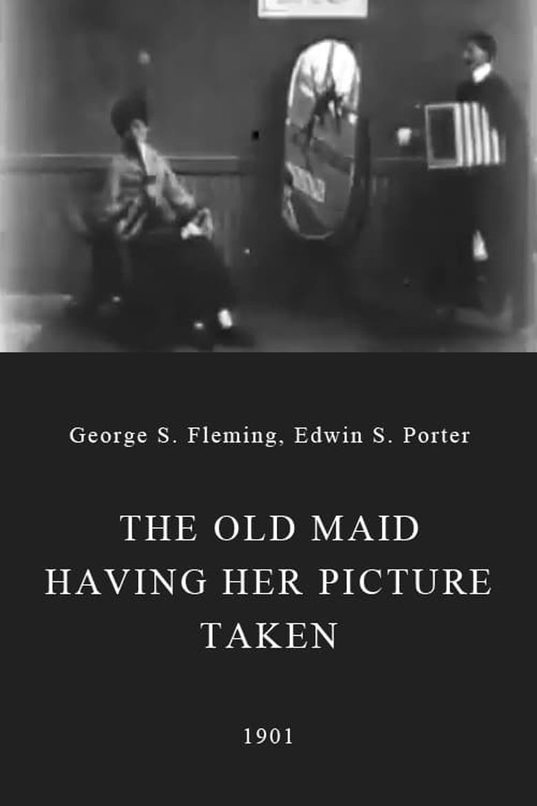 The Old Maid Having Her Picture Taken Poster