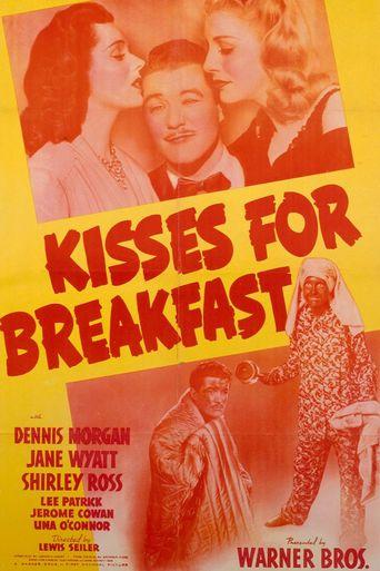 Kisses for Breakfast Poster