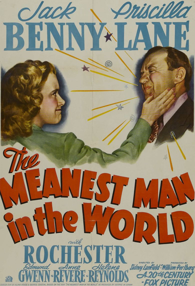 The Meanest Man in the World Poster