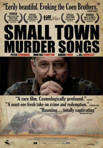 Small Town Murder Songs Poster