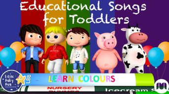 Educational Songs for Toddlers - Little Baby Bum Poster