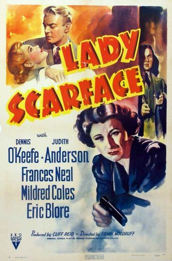 Lady Scarface Poster