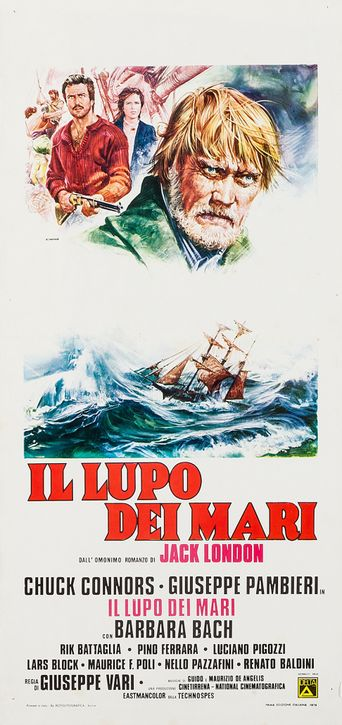 Legend of the Sea Wolf Poster
