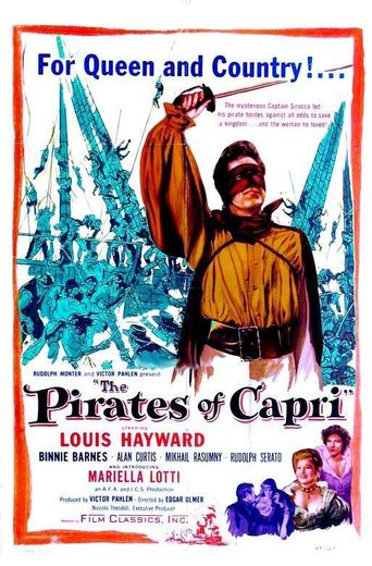 The Pirates of Capri Poster