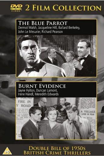 Burnt Evidence Poster
