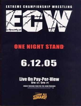 ECW One Night Stand 2005 Poster