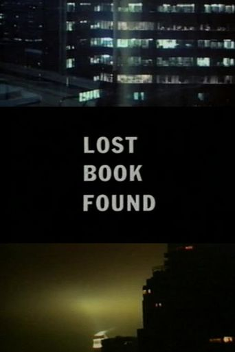 Lost Book Found Poster
