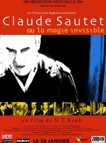 Claude Sautet or the Invisible Magic Poster