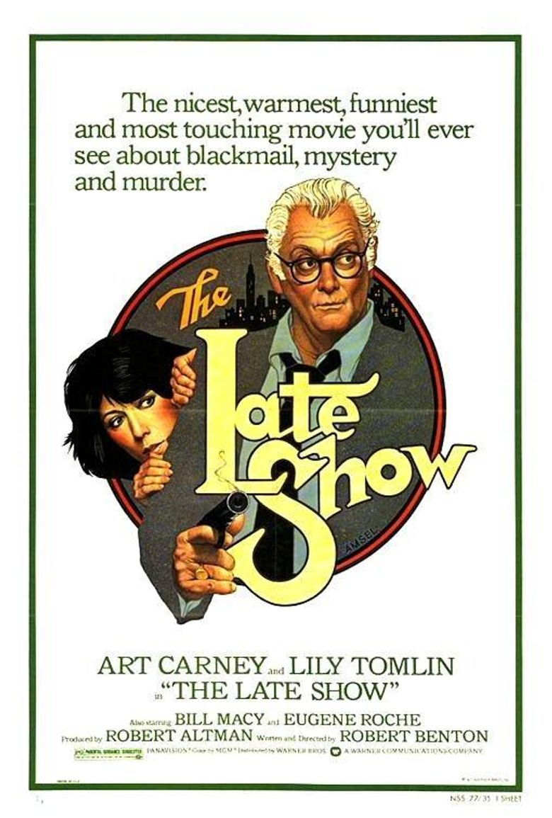 The Late Show Poster
