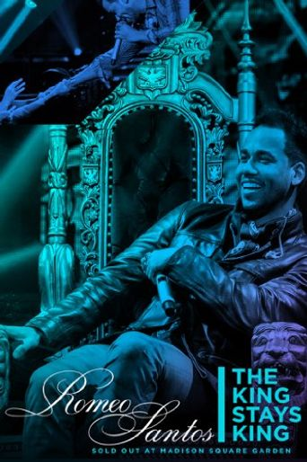 Romeo Santos King Stays King Sold Out at Madison Square Garden Poster