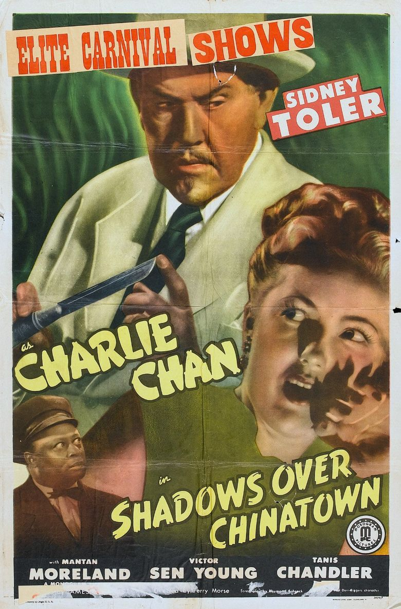 Shadows Over Chinatown Poster