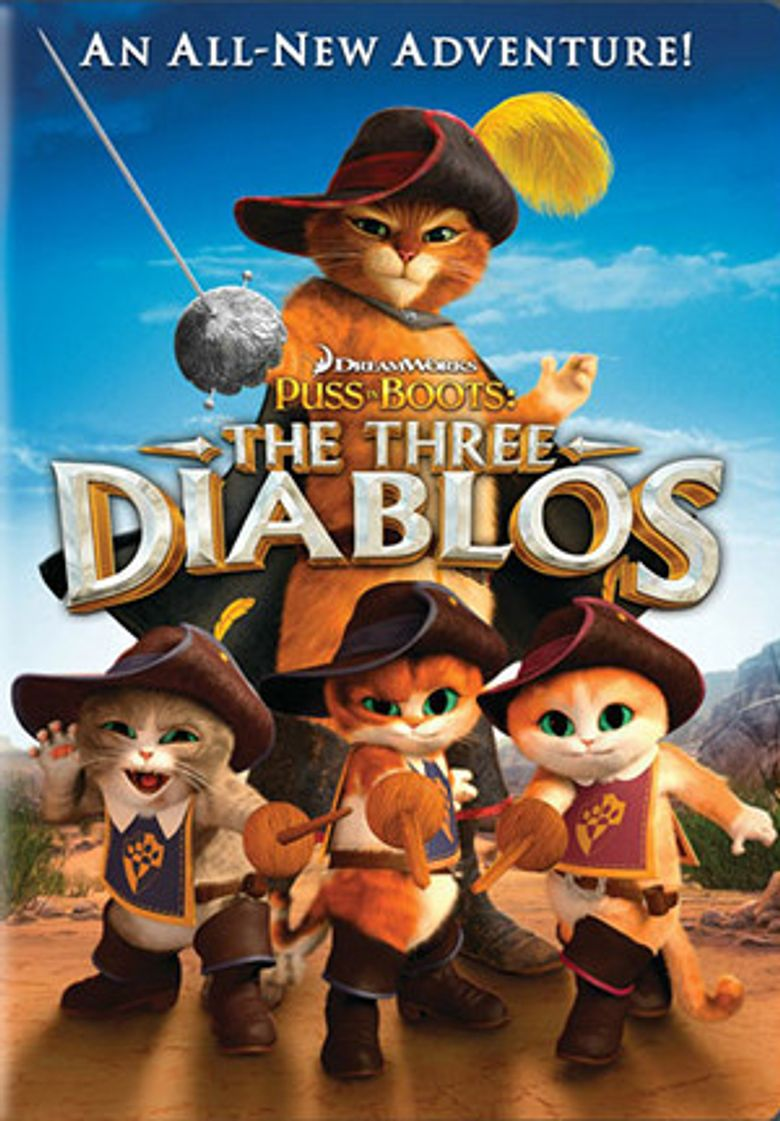 Puss in Boots: The Three Diablos Poster