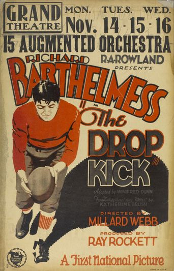 The Drop Kick Poster