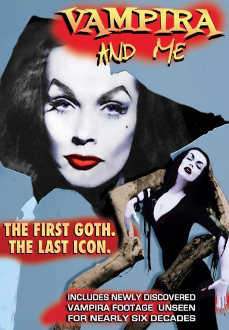 Vampira and Me Poster