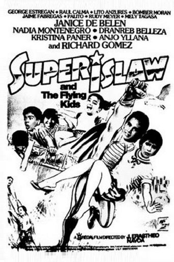 Super Islaw and the Flying Kids Poster