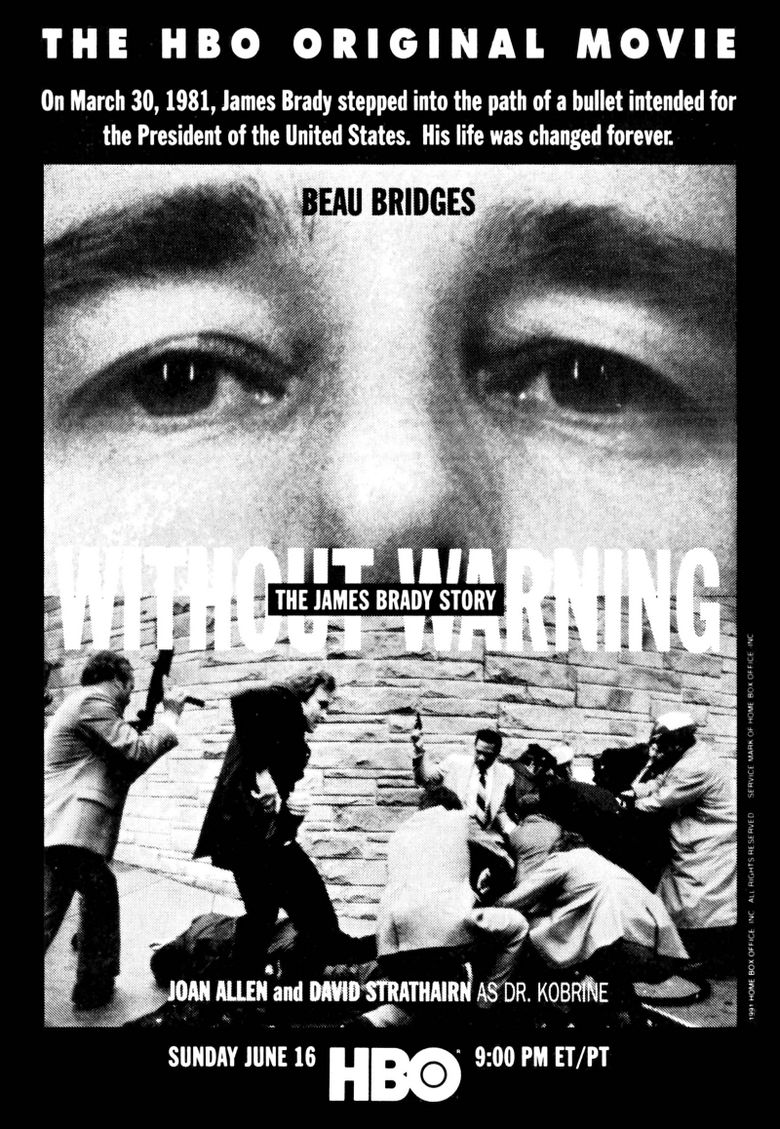 Without Warning: The James Brady Story Poster