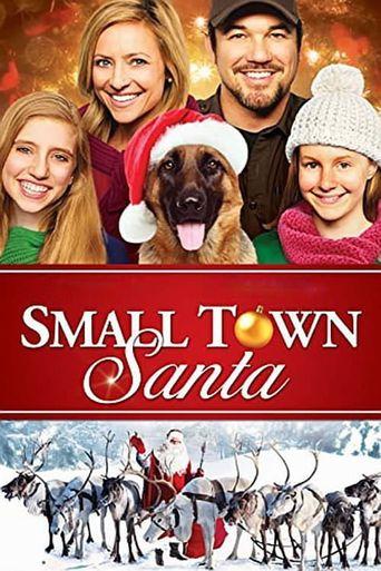 Small Town Santa Poster