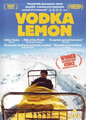Vodka Lemon Poster