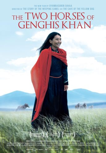 Two Horses of Genghis Khan Poster