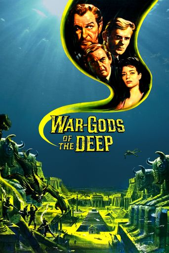 War-Gods of the Deep Poster
