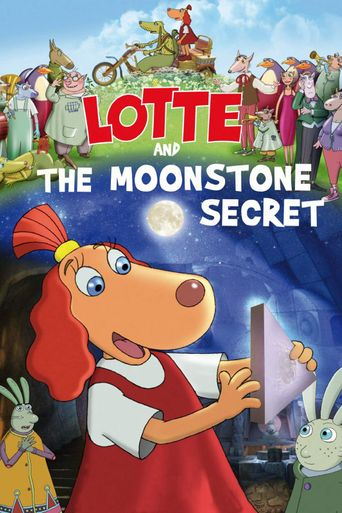 Lotte and the Moonstone Secret Poster