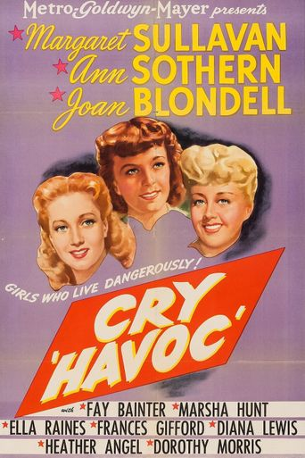 Cry 'Havoc' Poster