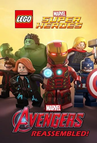 LEGO Marvel Super Heroes: Avengers Reassembled! Poster