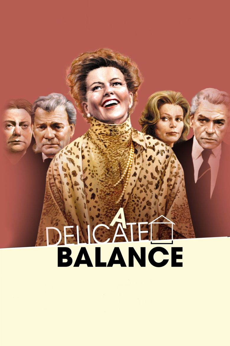 A Delicate Balance Poster