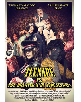 Teenape Vs. The Monster Nazi Apocalypse Poster