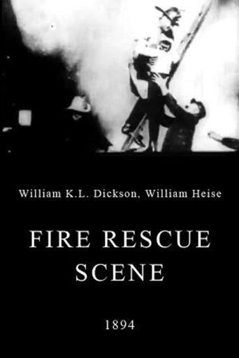 Fire Rescue Scene Poster