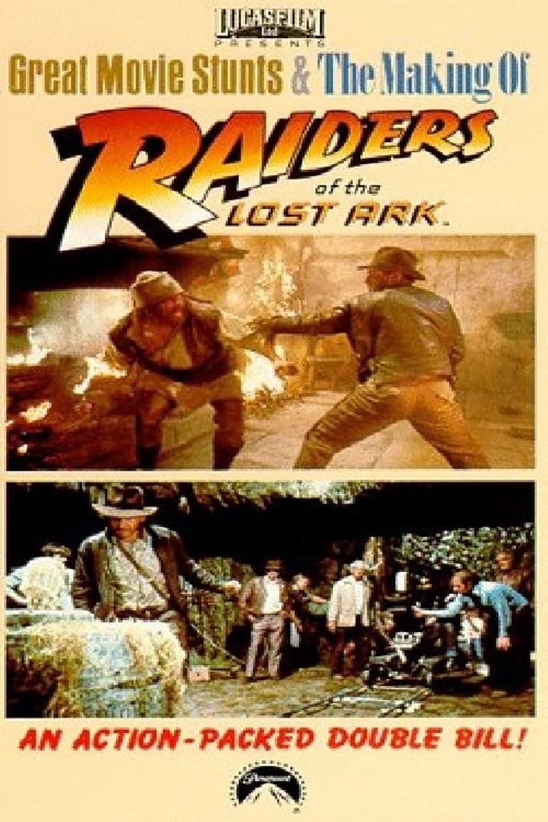 Great Movie Stunts: Raiders of the Lost Ark Poster