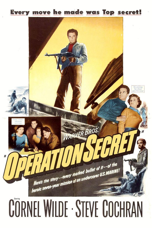Operation Secret Poster