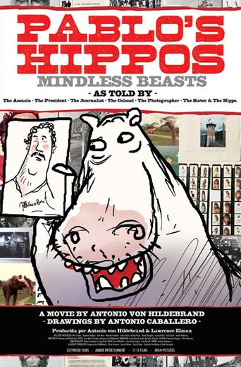 Pablo's Hippos Poster