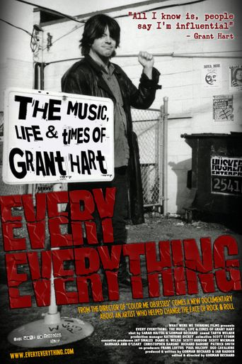 Every Everything: The Music, Life & Times of Grant Hart Poster