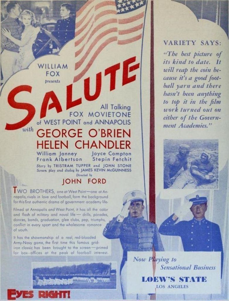 Salute Poster