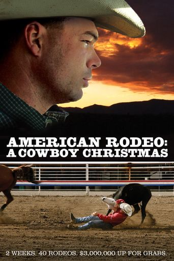 American Rodeo: A Cowboy Christmas Poster