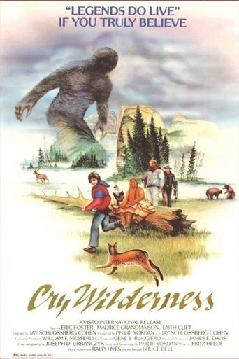 Cry Wilderness Poster