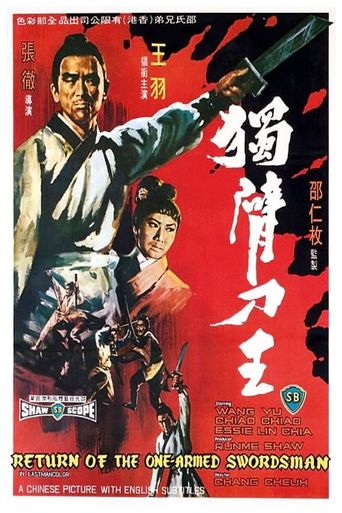 Return of the One-Armed Swordsman Poster
