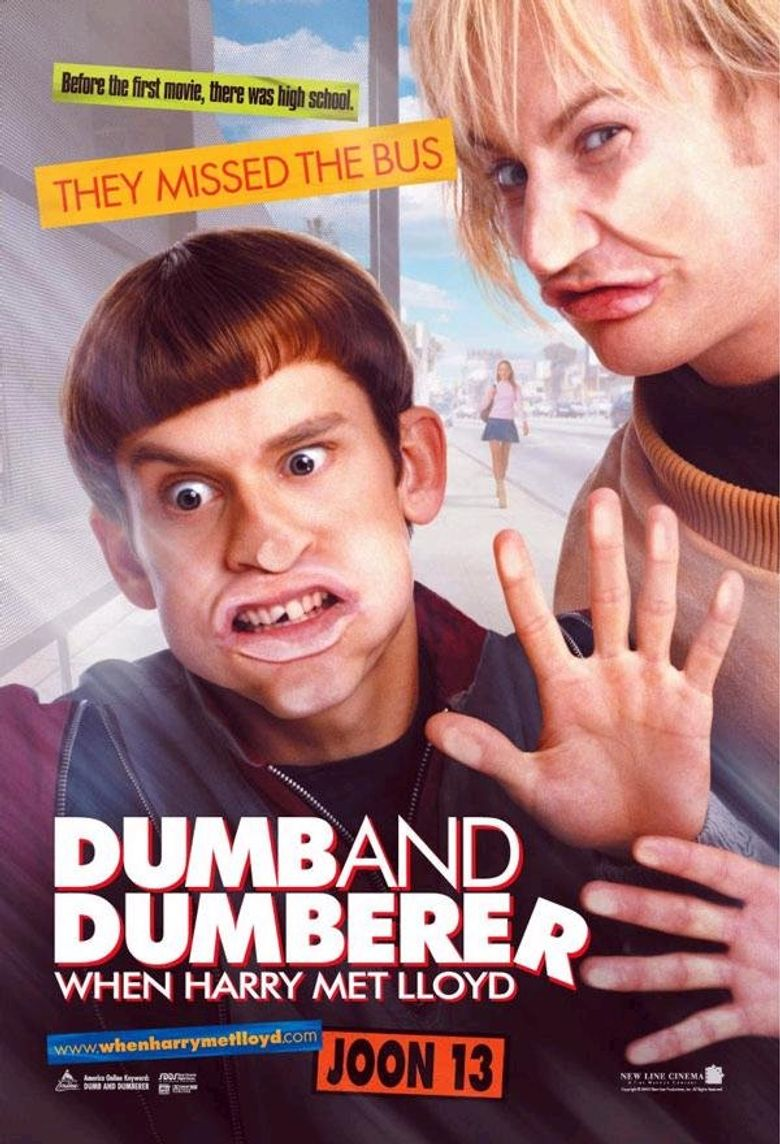 Dumb and Dumberer: When Harry Met Lloyd Poster