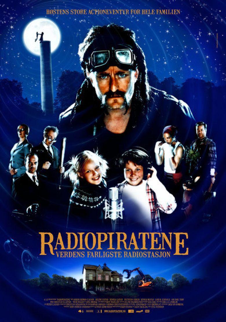 The Radio Pirates Poster