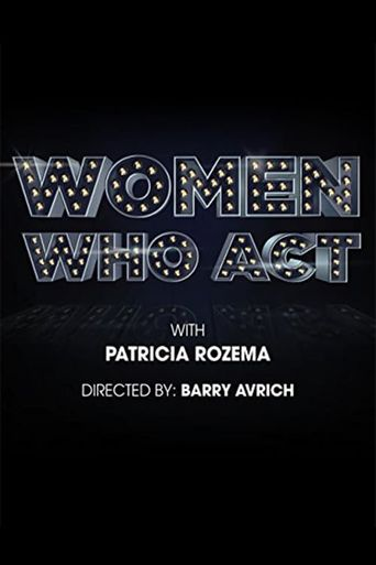 Women Who Act Poster