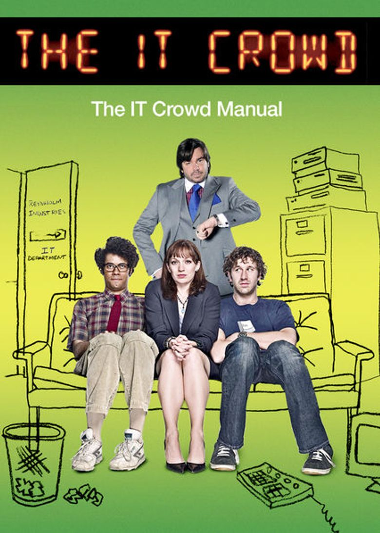 The IT Crowd Manual Poster