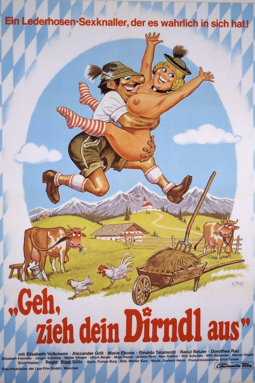 Love Bavarian Style Poster