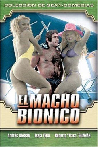 El macho bionico Poster