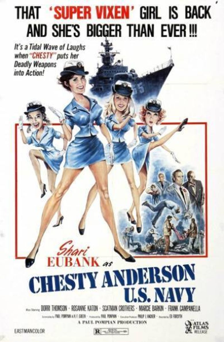 Chesty Anderson U.S. Navy Poster