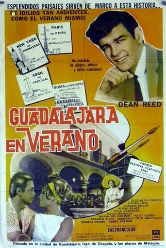 Guadalajara en verano Poster