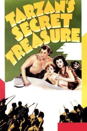 Tarzan's Secret Treasure Poster