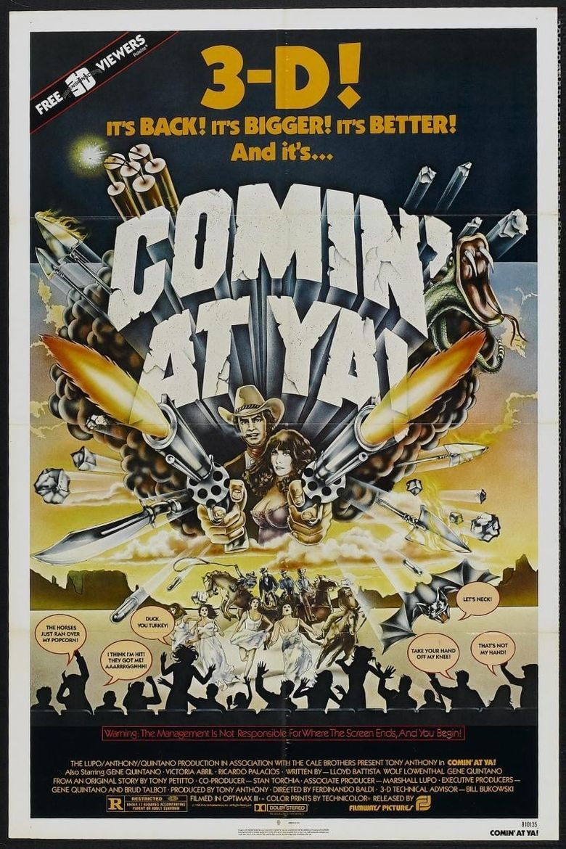 Comin' at Ya! Poster