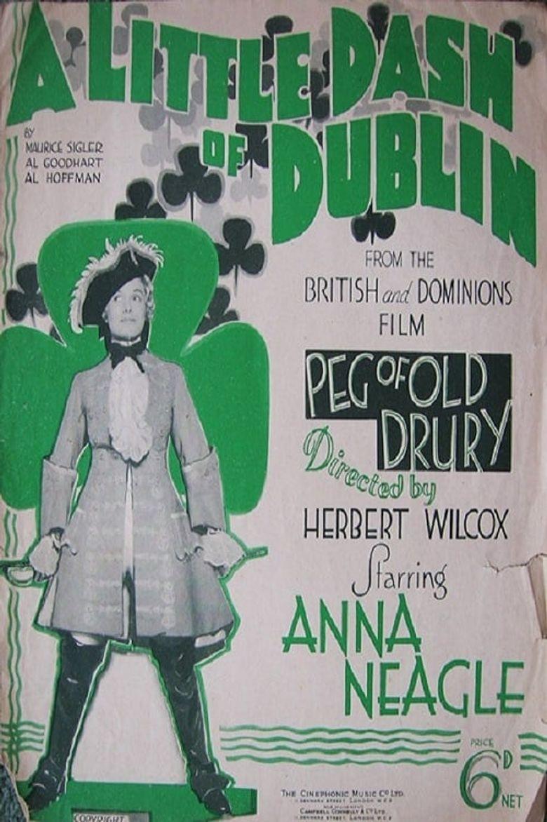 Peg of Old Drury Poster