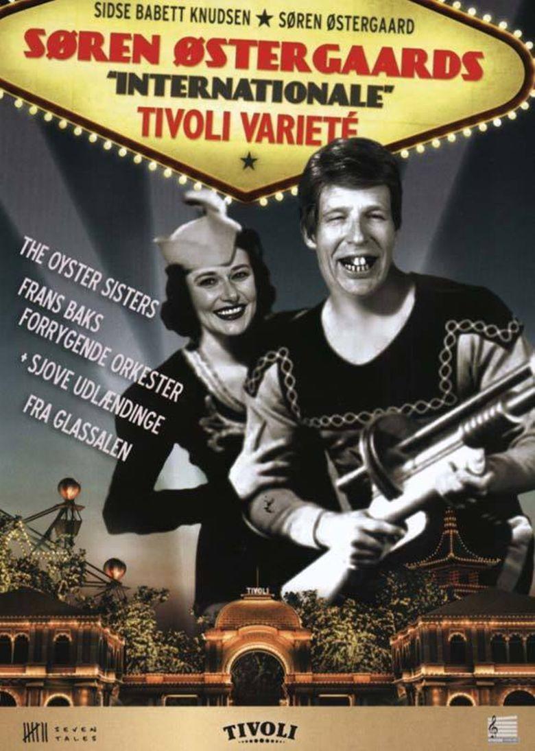 Søren Østergaards 'internationale' tivoli varieté Poster